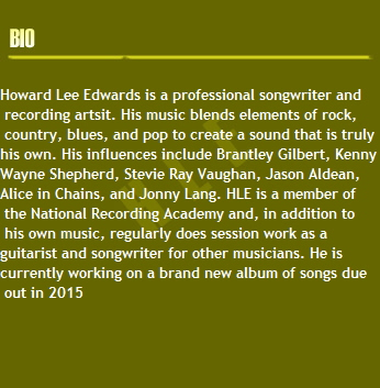 Howard Lee Edwards is a professional songwriter and
